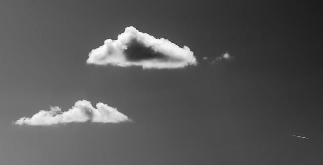 Sky med fly