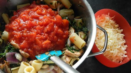 Spinach & Mushroom Rigatoni 10