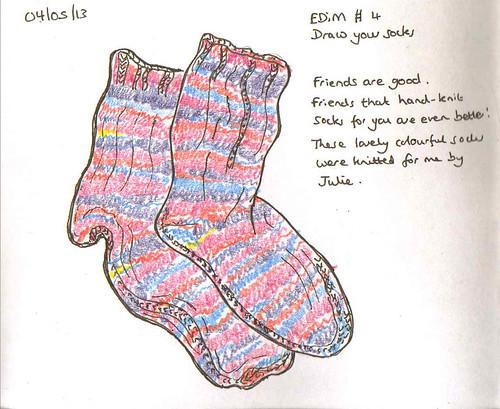 EDiM # 4 Socks