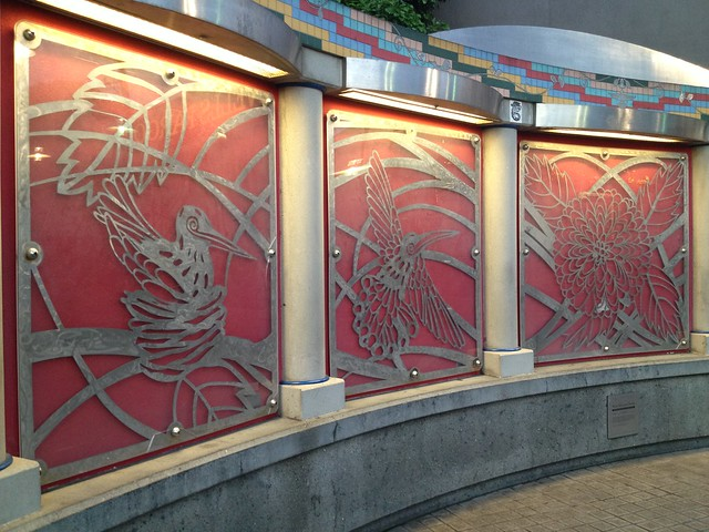 Bart station art installation