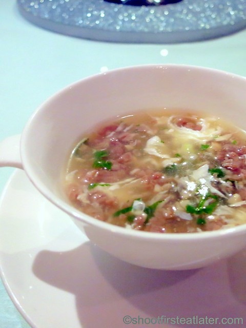 minced beef soup