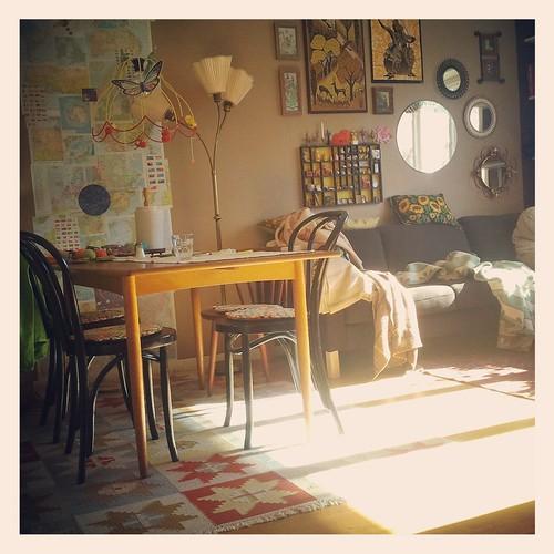 Sol i vårt hus