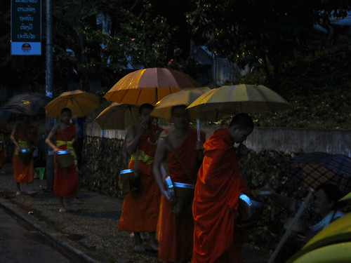 here come the monks