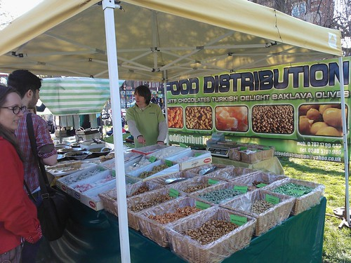 A stall at Camberwell Food Fair