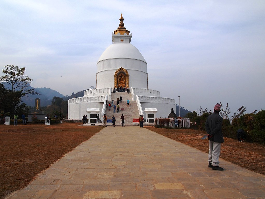 world peace pagoda pokhara