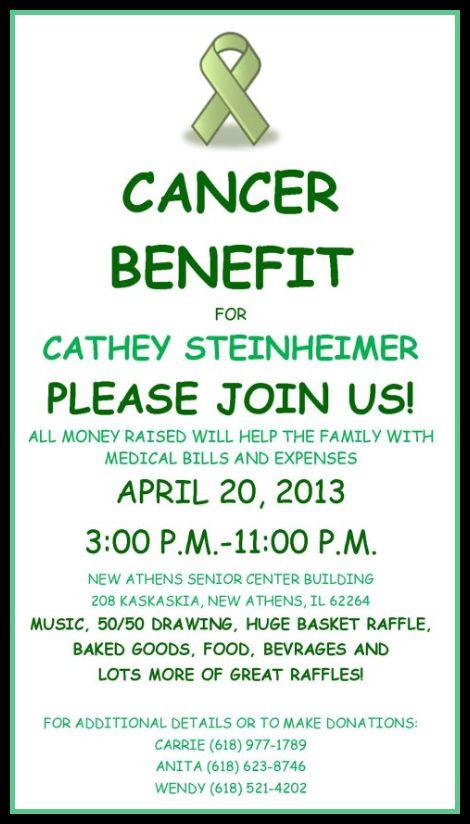 Cathey Benefit 4-20-13