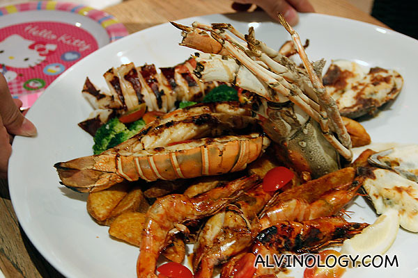 Barbecue Seafood Platter at Canopy