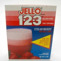 24-Year-Old Strawberry Jell-O 1-2-3: A Review
