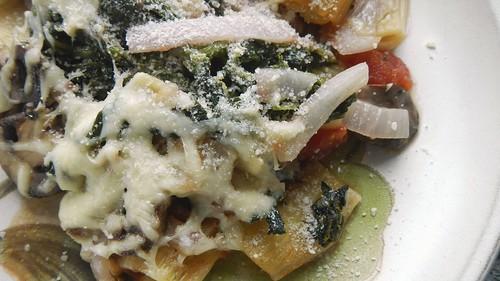 Spinach & Mushroom Rigatoni 14
