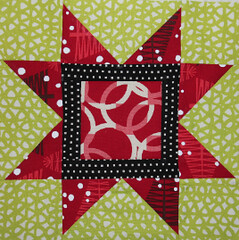 Block 8: Sawtooth Star Squared