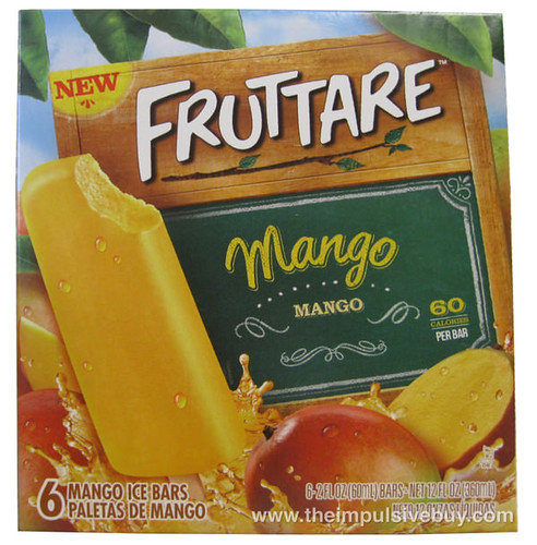 Fruttare Mango Ice Bars
