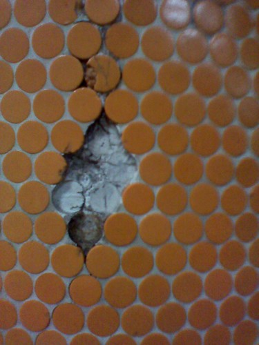Cracked tile, Dupont station