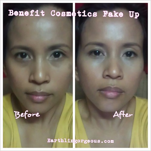 Benefit Cosmetics Fake Up review