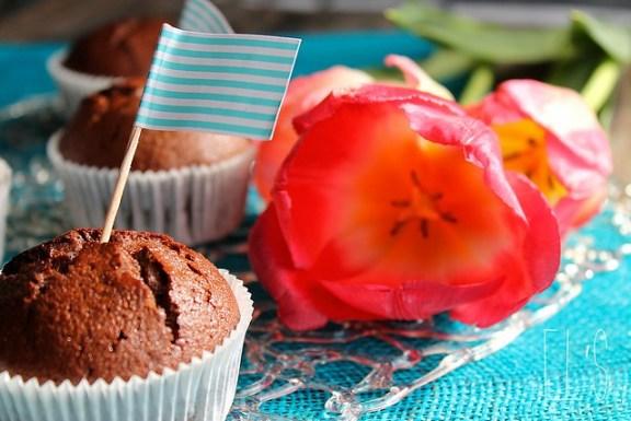Fondant au chocolat-praliné