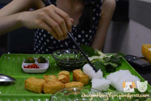 Ăn món chay ở Phở Linh