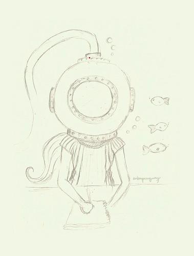 Swim Sketch