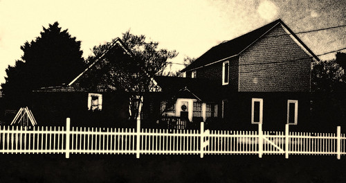 For Many, The Dream Of A Family And House With A White Picket Fence Is Not As Colorful As It Use To Be