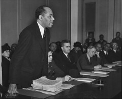 NAACP Counsel Charles H. Houston Speaks: 1940 ca.