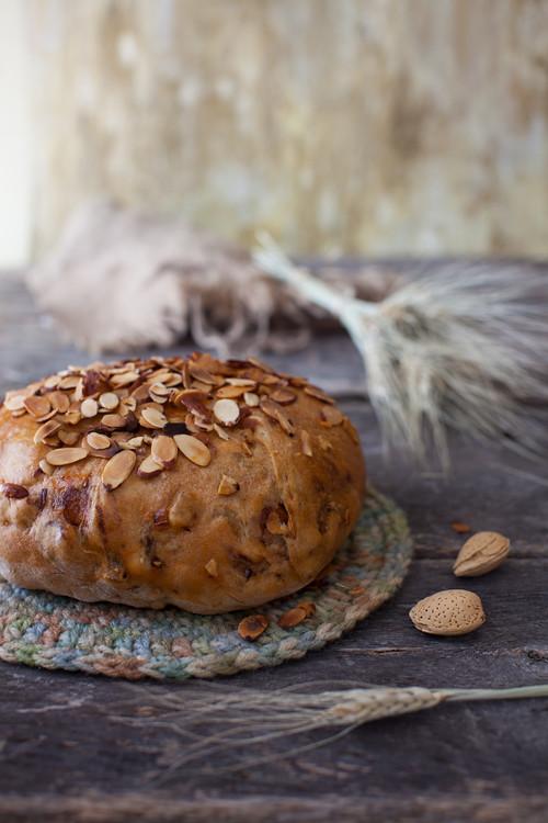 Almond Fig Bread 1