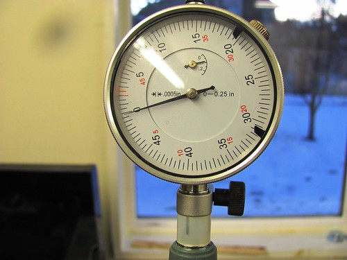 Zeroing Bore Gauge