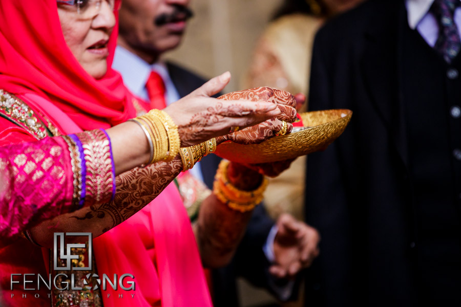 Indian wedding ritual