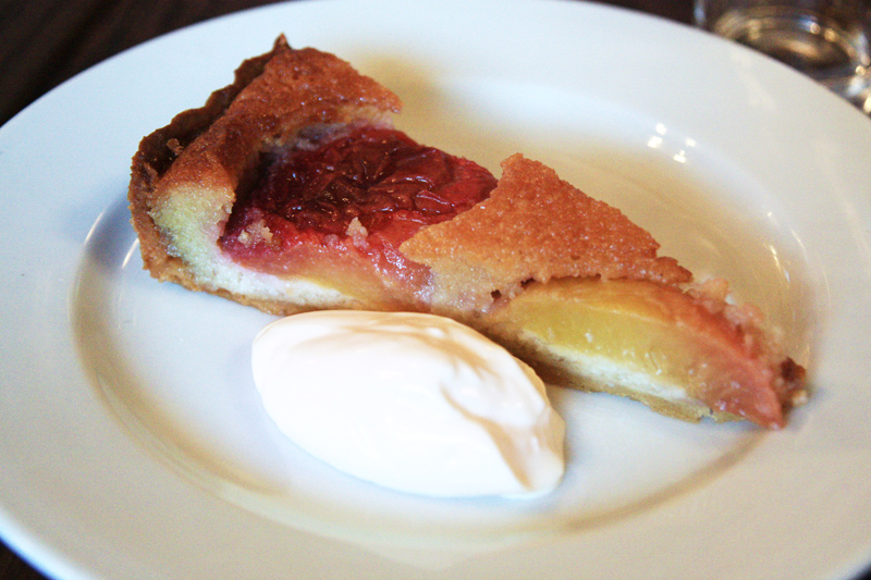 Beagle - Peach and Almond Tart