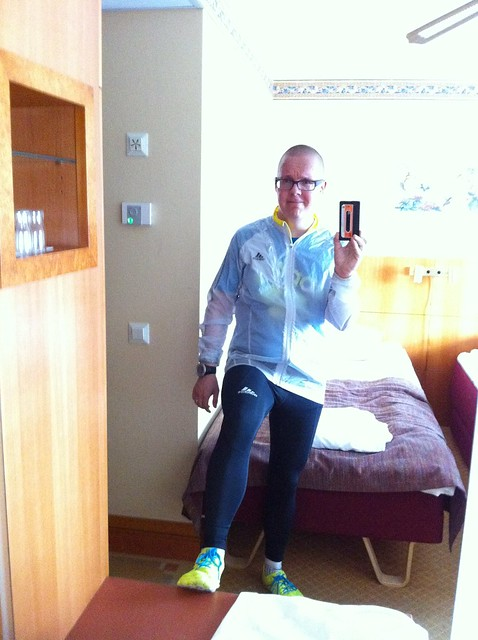 After a run in Turku. Stylish - eh?