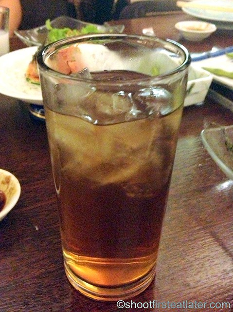 cold barley tea