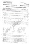 DTU Question Papers 2010 – 4 Semester - Mid Sem - ME-213