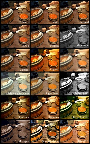 Olympus OM-D Picture Modes