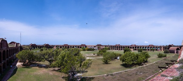 Fort Jefferson Parade Grounds pano