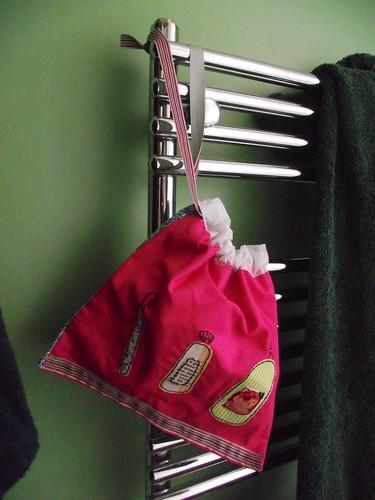 Poppy Treffry inspired wash bag