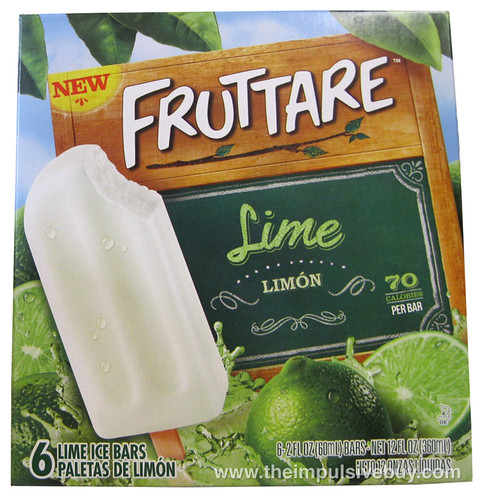 Fruttare Lime Ice Bars