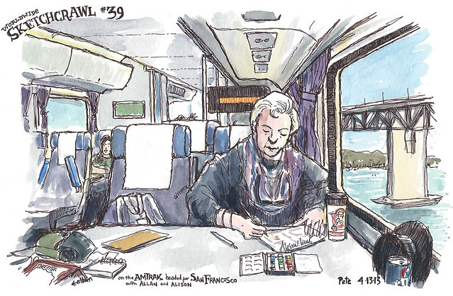 amtrak sketch