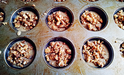 Cashew crumble with butter