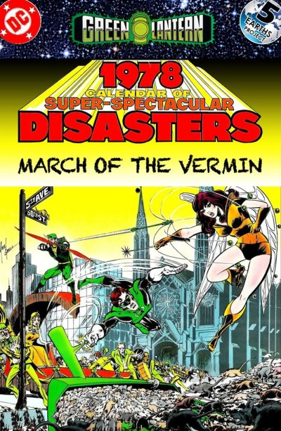 Green Lantern and Green Arrow: Times Past, 1980: March of the Vermin
