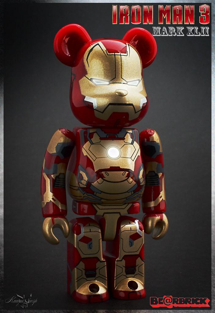 Be@rbrick Iron man Mark XLII
