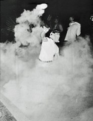 U of MD Student Tosses Tear Gas Canister Back to Police: May 1970