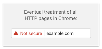 Google Chrome Non-HTTPS Warnings