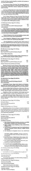 DTU Syllabus - Electronics & Communication Engineering