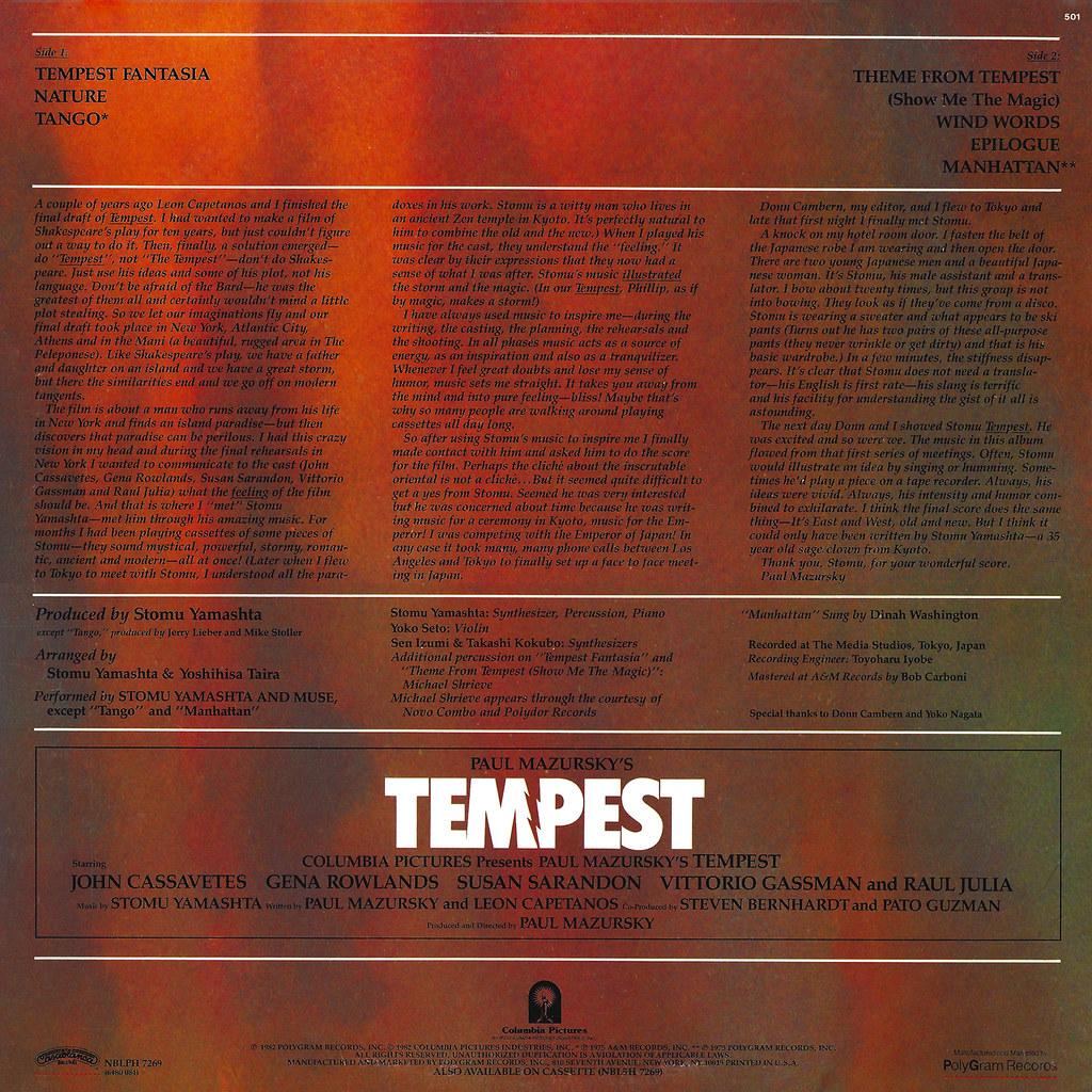 Stomu Yamashta - Tempest