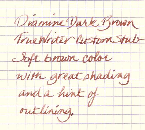 Diamine Dark Brown Ink