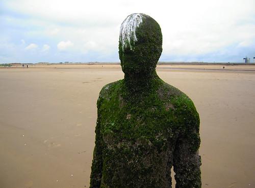 Antony Gormley's Another Place, Crosby beach, UK