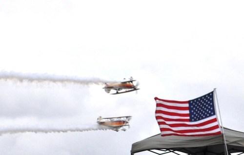 Iron Eagle Aerobatic Team,  Florida International Air Show, Punta Gorda, March 2013