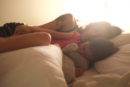 my loves are sleeping...