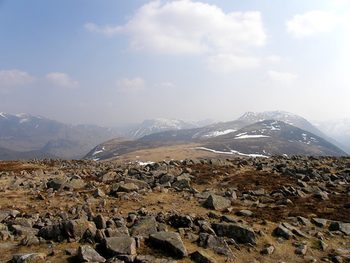 From Great Borne: The route ahead - Starling Dodd and Red Pike beyond