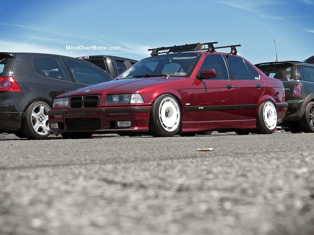 Slammed BMW E36