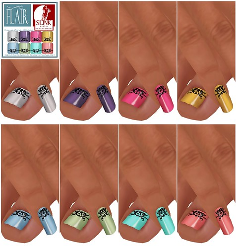 Flair - Nails Set 35