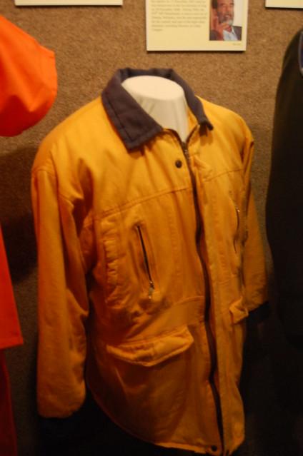 Saddam Hussein's prison jacket