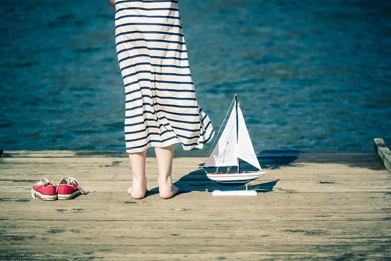 seasick, yet still docked